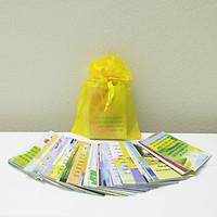 Quà tặng động viên - Bộ thẻ Thông điệp mỗi ngày gồm 96 thẻ với 96 thông điệp và thiết kế hình ảnh khác nhau