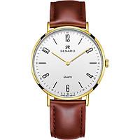 Đồng hồ nam dây da SENARO Classic Every Time SAR66016GWZ - Đồng hồ Nhật Bản chính hãng