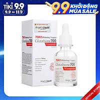 Serum Dưỡng Trắng Làm Đều Màu Da Angel Liquid 7 Day Whitening Program Glutathione 700 V-Ample 30ml