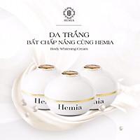 Kem Body Thạch Tuyết Hemia Hàn Quốc Dưỡng Trắng Da ,Cấp Ẩm ,Chống Nắng Và Make Up Cho Da