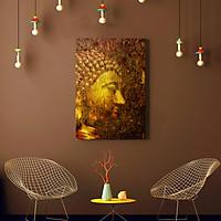 Tranh Treo Tường Trang Trí Canvas Mopi - Chủ Đề Phật Giáo, Tâm Linh, Phật Tổ Như Lai (Kích Thước 60 x 90 cm)