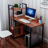 bàn học, Bàn làm việc,bàn văn phòng liền kệ sách, Khung sắt CỞ LỚN, Chịu lực cao, không lay. BLV08