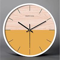 Đồng hồ treo tường nghệ thuật ORANGE ECLIPSE