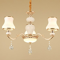 Đèn trần - đèn chùm - đèn trang trí pha lê mang phong cách hiện đại