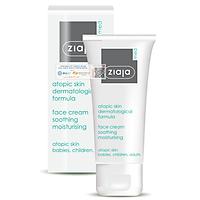 Kem Dịu Nhẹ - Dưỡng Âm 5% Urê Ziaja Med Atopic Skin Dermatological Formula Face Cream Soothing Moisturising 50ml