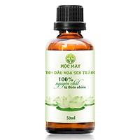 Tinh dầu hoa Sen Trắng 50ml Mộc Mây - tinh dầu thiên nhiên nguyên chất 100% - chất lượng và mùi hương vượt trội - Có kiểm định