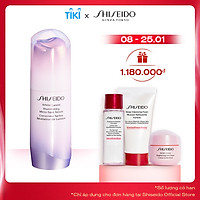 Bộ sản phẩm Tinh chất dưỡng da Shiseido White Lucent Illuminating Micro-Spot Serum 30ml