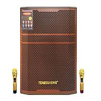 Loa kẹo kéo karaoke bluetooth Temeisheng GD1512 - Hàng nhập khẩu