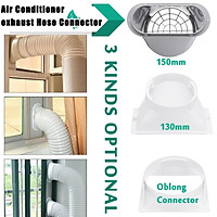 """130/150/179mm Portable Exhaust Hose Tube Connector for Air Conditioner Window""""/6"""""""