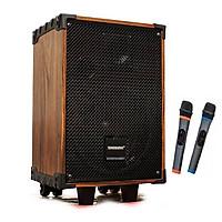 Loa kéo di động karaoke Temeisheng 1042/ Model A10-7 kèm 2 micro loa 3 tấc + Loa Bluetooth KBS-6029/ KBS-6030 - Hàng nhập khẩu