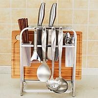 Giá để đồ nhà bếp đa năng inox 304  - 37x20.5x31cm