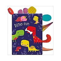 Dino Fun Cloth Book - Sách Vải Chủ Đề Về Khủng Long Vui Vẻ