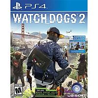Đĩa game Watch Dogs 2 cho PS4 - Hàng Nhập Khẩu