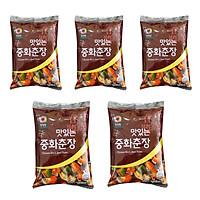 Combo 5 Gói Bột Tương Đen JAJANG Hàn Quốc Deasang (250G/Gói)