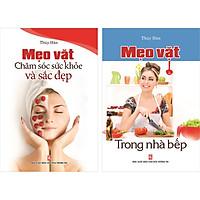 Combo 2 cuốn Mẹo Vặt Chăm Sóc Sức Khỏe Và Sắc Đẹp. Mẹo Vặt Trong Nhà Bếp.