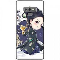 Ốp lưng dành cho Samsung Galaxy Note 9 mẫu Cô gái Trung Hoa chibi