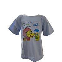 Áo trẻ em sơ sinh tay ngắn -  họa tiết hoạt hình nhiều màu, thun 100% Cotton mềm mịn, thoáng mát - Shop TiVung chuyên quần áo trẻ em