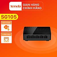 Bộ chia mạng Switch Tenda SG105 5 cổng Gigabit - Hàng Chính Hãng