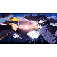 Poster A3 dán tường Anime, decal 30x42 trang trí có keo Naruto Wallpapers 33