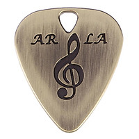 Creative Sheet Metal Guitar Picks Plectrum Guitar Picks 1.4 Mm For Acoustic Electric Guitar