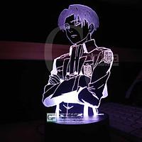 Đèn Ngủ Attack on Titan Levi Ackerman Siêu Ngầu Siêu Đẹp Type 01