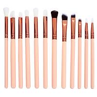 Makeup Brushes Foundation Powder Brush Lady 12pcs/Set Wooden Handle Cosmetic Tool