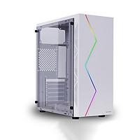 Vỏ Case Máy Tính VSP V3-603W White (Màu Trắng) - Hàng Chính Hãng