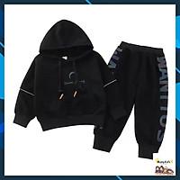 Quần áo bé trai + gái, bộ nỉ da cá Mềm Mịn, dày dặn mùa thu đông 17-31kg, MÃ DREAM