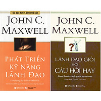 Bộ Sách Về Nghệ Thuật Lãnh Đạo ( Lãnh Đạo Giỏi Hỏi Câu Hỏi Hay + Phát Triển Kỹ Năng Lãnh Đạo ) (Tặng kèm Tickbook)