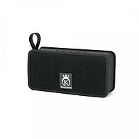 Loa Bluetooth mini, loa di động hỗ trợ thẻ nhớ, USB có quai đeo KING CROWN JC200 + Tặng cáp Audio Jack 3.5mm (Đen) - Hàng chính hãng