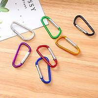 Móc treo đồ kim loại – Móc khóa bấm kim loại ( Giao màu ngẫu nhiên )