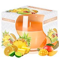 Ly nến thơm tinh dầu Bispol Tropical Fruits 100g QT024779 - trái cây nhiệt đới