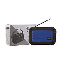 Loa bluetooth mini Kimiso KMS-E98 hỗ trợ nghe USB, khe thẻ nhớ, đài radio FM, cắm dây AUX, thoại rãnh tay, có quai xách (màu ngẫu nhiên) HÀNG NHẬP KHẨU