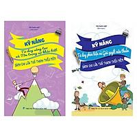 Sách Kỹ năng sống dành cho học sinh - Combo Kỹ năng tư duy