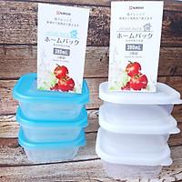 Bộ 6 hộp đựng thực phẩm NAKAYA 380ml nhập khẩu từ Nhật Bản