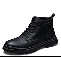 Giày nam cao cổ da thật cao cấp giày nam thời trang kiểu dáng Hàn Quốc mã 76788