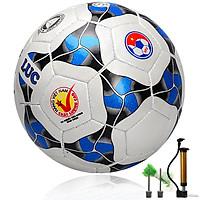 Quả bóng đá Động Lực Cơ bắp UCV 3.05 - kèm bơm bóng,2 kim bơm và lưới đựng bóng