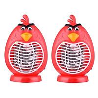 Bộ 02 Đèn bắt muỗi hình thú Panda (Angry Bird) - Màu ngẫu nhiên
