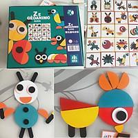 Bộ đồ chơi Montessori ghep hình 29 chi tiết - Đồ chơi gỗ giáo dục sớm