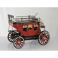 Mô hình xe ngựa cổ Châu Âu / Carriage Metal Decoration handmade Souvenir(1304E-3527)