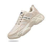 Giày thể thao nam, giày nam đẹp, giày chạy bộ thời trang Hàn Quốc, thoáng khí, trẻ trung, hiện đại, 3 màu be, trắng, đen, đủ size PETTINO - PN03