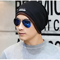 Mũ len trùm  đầu đa năng 2 trong 1 cho nam cao cấp, nón len nam thời trang mới