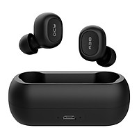 QCY T1C Bluetooth 5.0 TWS Earbuds True Wireless Headphones with Dual Mic Popovers Fast Pairing In-ear Earphones Twins