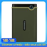 Ổ Cứng Di Động Transcend M3G 1TB Slim USB 3.0/3.1 TS1TSJ25M3G - Hàng Chính Hãng
