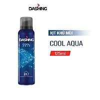 Xịt Khử Mùi Dashing Hương Cool Aqua 125ml