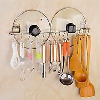 Giá móc treo đồ không cần khoan cho nhà bếp đa năng thông minh - Cho bếp núc gọn gàng tiện dụng