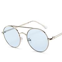 Fashion Retro Metal Round Frame Outdoor Sports Sunglasses