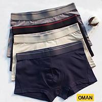 Quần lót đùi nam, quần sịp nam co giãn, mát màu đẹp NGẪU NHIÊN - OMAN- QL020