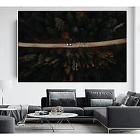 Tranh canvas treo tường FlyCam Từ Trên Cao Cao Cấp decor trang trí phòng khách hiện đại đẹp nghệ thuật HĐ331
