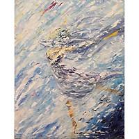 Tranh sơn dầu sáng tác vẽ tay: Vũ Điệu